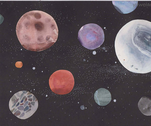 alternative, moon, and planets image