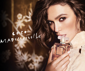 chanel, Coco Mademoiselle, and keira knightley image