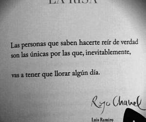 Risa, frases, and cry image