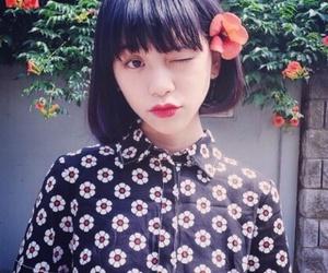 fringe, hair, and japanese image