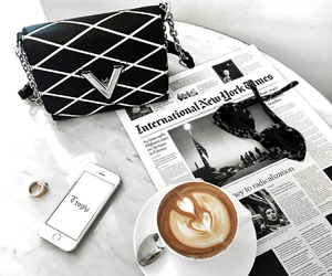 coffee, bag, and drink image