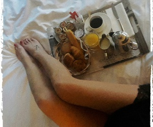 breakfast, relax, and relaxing image