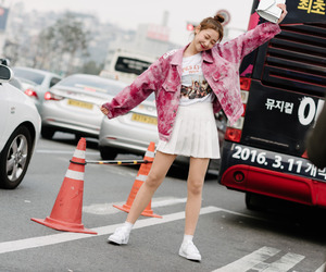 fashion week, seoul, and korea image
