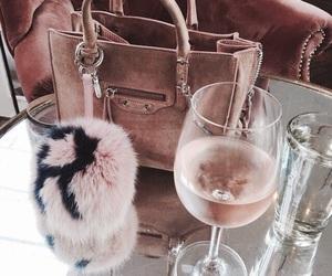 fashion, bag, and drink image