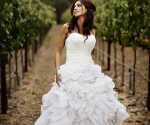 dress, white, and party dresses image