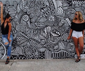summer, wall, and friends image