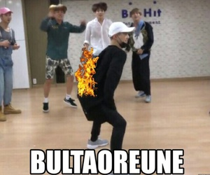 bts, suga, and bultaoreune image