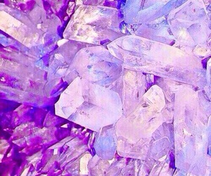 crystal, wallpaper, and purple image