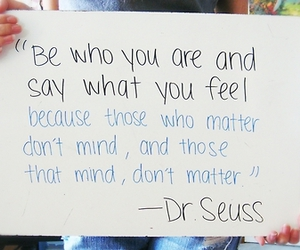 quote, dr seuss, and Dr. Seuss image