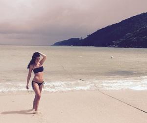 beach, shooting, and love image