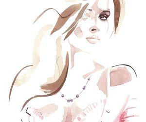 illustration, draw, and fashion image