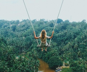 girl, adventure, and blonde image
