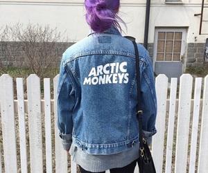 arctic monkeys, hair, and grunge image