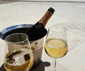 champagne, luxury, and rich image