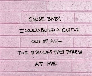 pink, quotes, and baby image
