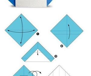 diy, instructions, and origami image