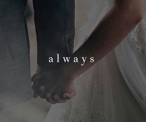 always, bride, and forever image