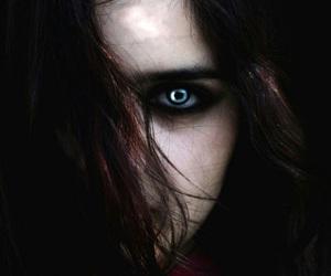 dark and evil image