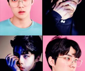 exo, monster, and sehun image