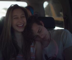 couple, car, and taissa farmiga image