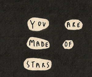 stars, quotes, and words image