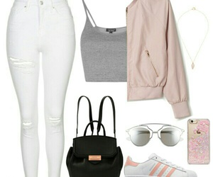 adidas, outfits, and crop top image