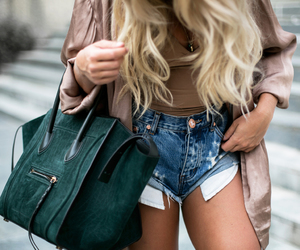 fashion, blonde, and angelica blick image