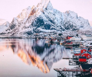 escape, snow, and travel image