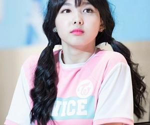 pink, nayeon, and twice image