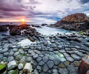 beach, beautiful, and Giant's Causeway image