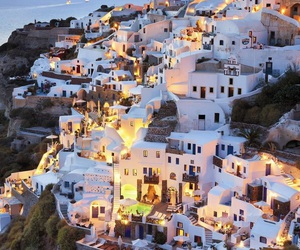 background, city, and Greece image