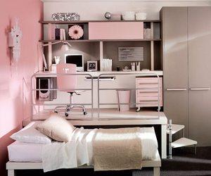 bedroom, teenage, and small image