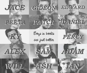 book, boy, and jace image
