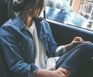 jeans, outfit, and style image