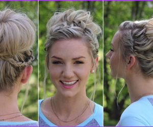 hairstyle, hairstyle video tutorial, and hairstyle tutorial image