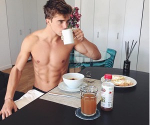 boy, food, and cute image