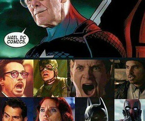 Marvel, captain america, and stan lee image