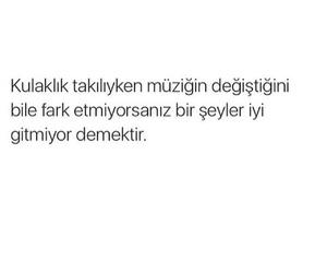 müzik, kulaklık, and türkçe image