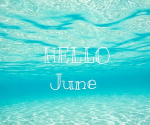 june, sea, and summer image