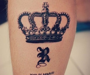 crown and tattoo image