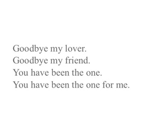 be, friend, and goodbye image