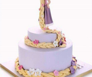 cake, purple, and fondant image