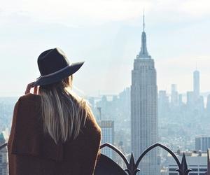 girl, fashion, and new york image