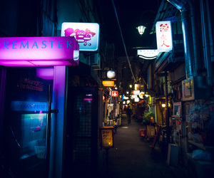 alley, japan, and tokyo image
