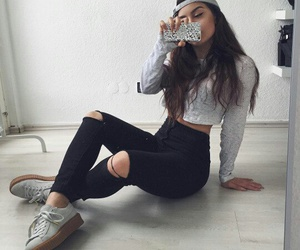 outfit, style, and inspiration image