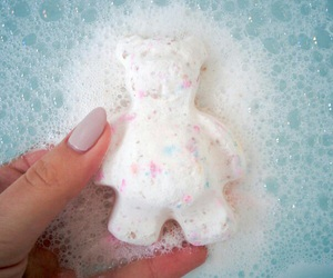 bath bombs and bathroom image