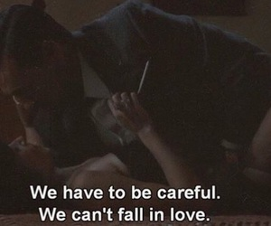 couple, careful, and fall in love image