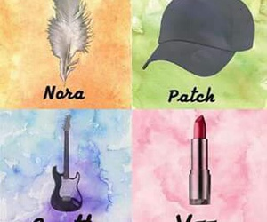 hush hush, nora, and patch image