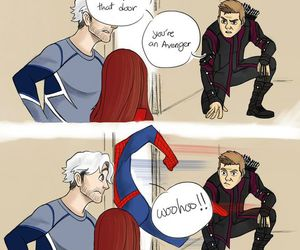 Avengers, Marvel, and spiderman image