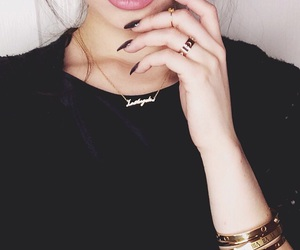 girl, fashion, and nails image